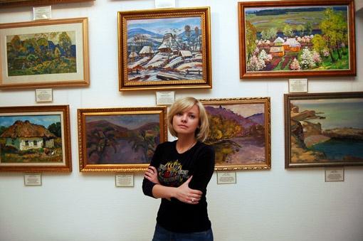 Инна Билык годами добивалась открытия галереи.