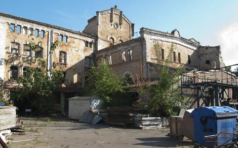 Пивзавод Санценбахера. Пивзавод «Гамбринус». Годы постройки – 1909-1910, архитектор – Б.А. Бауэр.