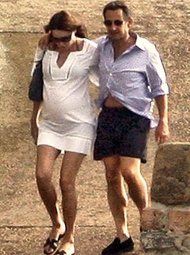 Скрывать беременность уже невозможно. Фото DailyMail.