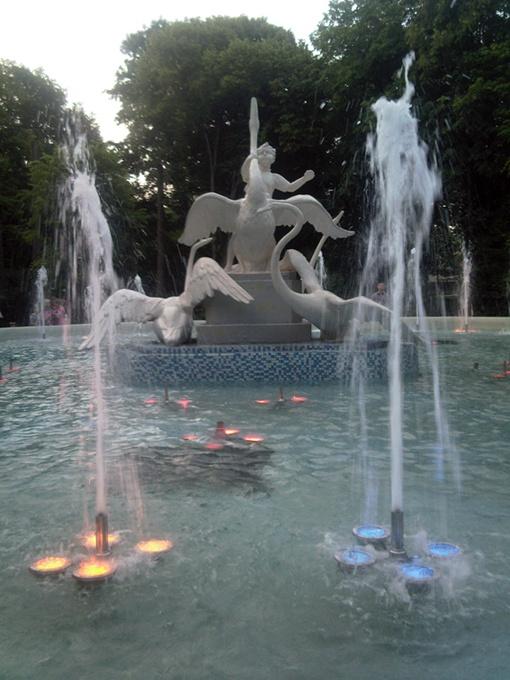 В пятницу фонтан «Ивасык-Телесык» уже должны были отремонтировать.
