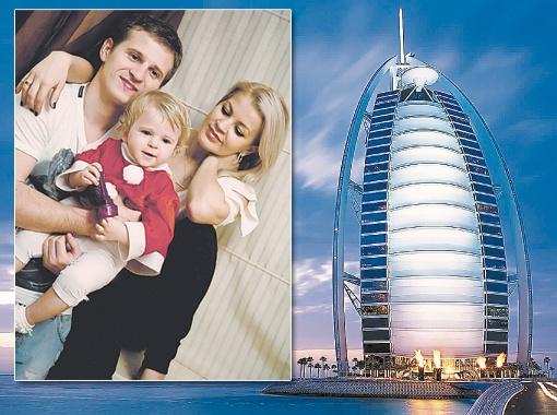 Алиев повез жену, дочку Алину и сына Виталия в элитный отель, который стоит прямо на воде. Фото из личного архива футболиста и сайта ewallpapers.eu.