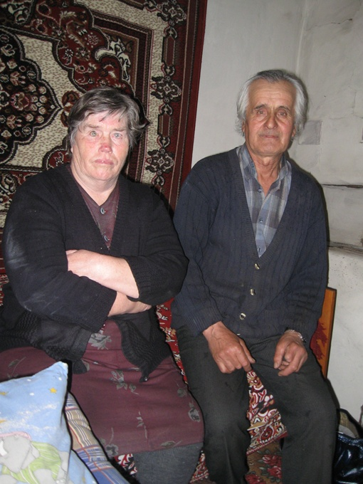 Петр Шатунов со своей женой Лидией. Фото автора.