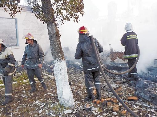 Когда приехали пожарные, спасать было уже некого.