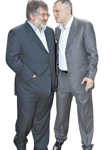 Игорь Коломойский и Игорь Суркис быстро договорились о трансфере Зозули. Фото УНИАН.