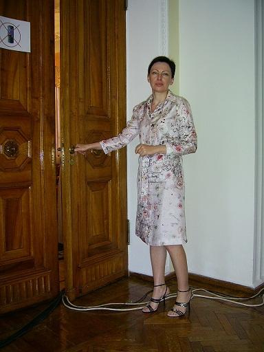 Депутат облсовета Наталья Левченко. Фото автора.