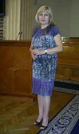 Заместитель председателя облсовета Людмила Давыдова. Фото автора.