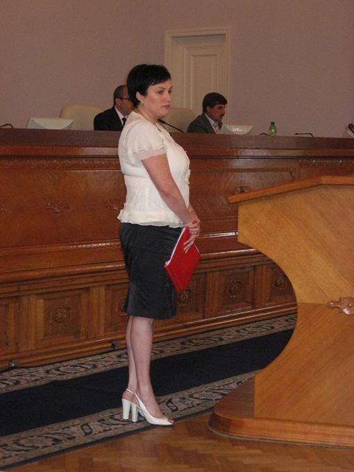 Директор департамента образования мэрии Ольга Деменко. Фото автора.