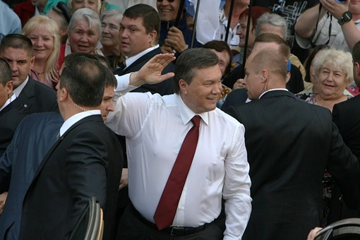 Президент Украины Виктор Янукович. Фото phylloscopus.livejournal.com.