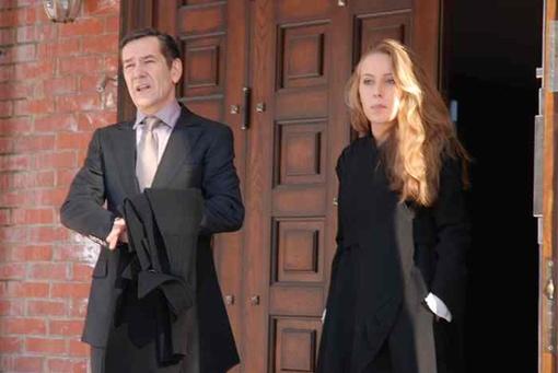 В картине Горбунов играет бизнесмена, который хочет переспать с главной героиней - моделью, но потом выясняется, что она его дочь. Фото с сайта Viva