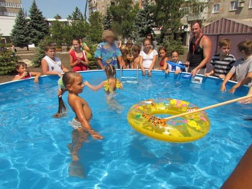 Бассейн для детей. Фото: 0629.