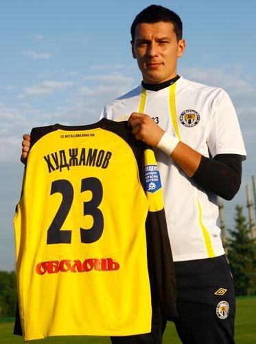 Вместо 12-го Рустам получил 23-й номер. Фото: пресс-служба