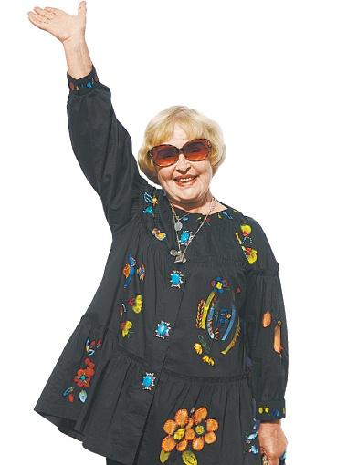 16 июля член жюри конкурса Ада Роговцева отпраздновала в Одессе свой день рождения.