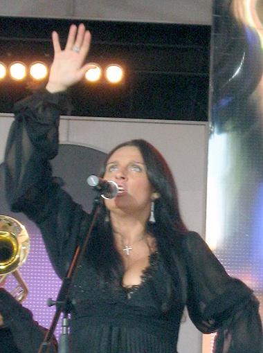Елена Ваенга - одна из самых популярных певиц на нашей эстраде. Фото Ирины Барышевой.