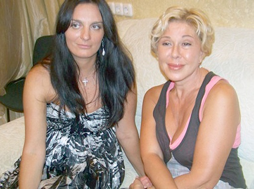 Елена Ваенга с певицей Любовью Успенской. Фото Ирины Барышевой.