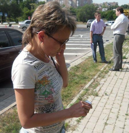 Журналистам запрещали снимать ДТП. Фото: Донбасс.