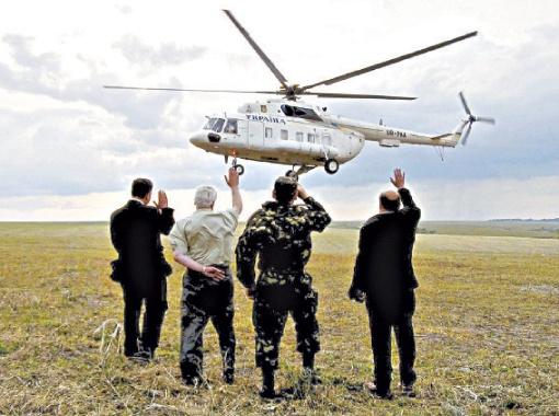 В 2004-м премьер Янукович летал на Ми-8...