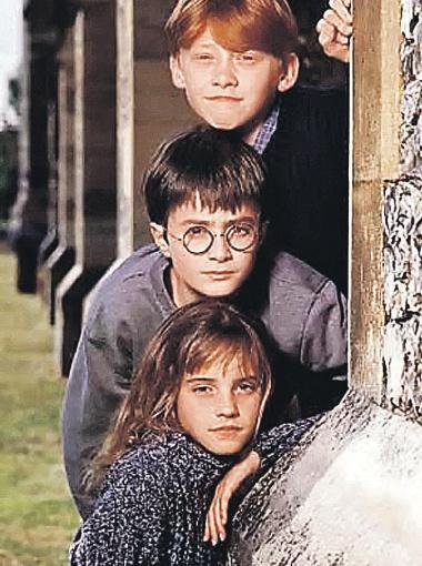 Руперт Гринт, Дэниел Рэдклифф и Эмма Уотсон пришли в поттериану детьми.