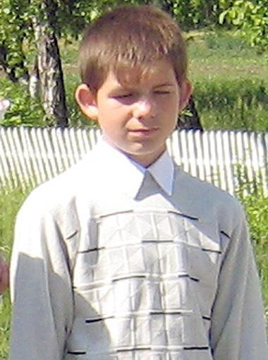 Убитый мальчик.