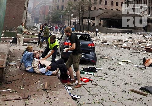 Во взрыве у здания правительства Норвегии и расстреле подростков на острове виноват один и тот же человек Фото: REUTERS