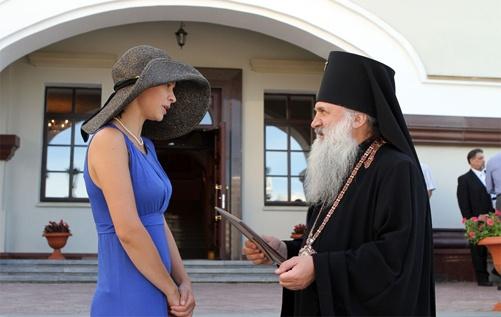 С Владыкой Викентием, архиепископом Екатеринбургским и Верхотурским