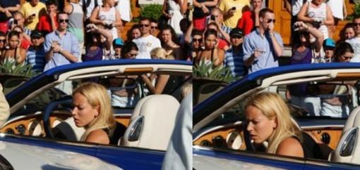 Виновница аварии на Bentley. Фото dr.cat.