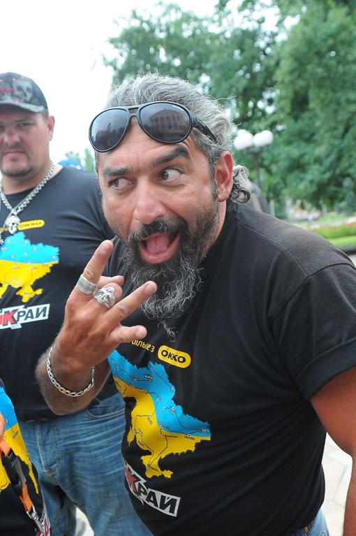 Самый известный байкер Украины Ашот