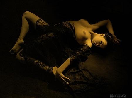 Даша ню. Фото: Kassandra