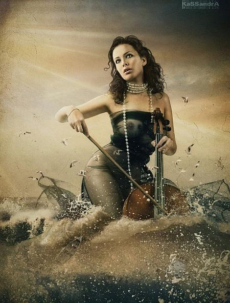 Даша-музыкант. Фото: Kassandra