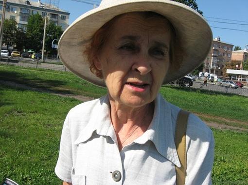 Светлана Степановна, пенсионерка