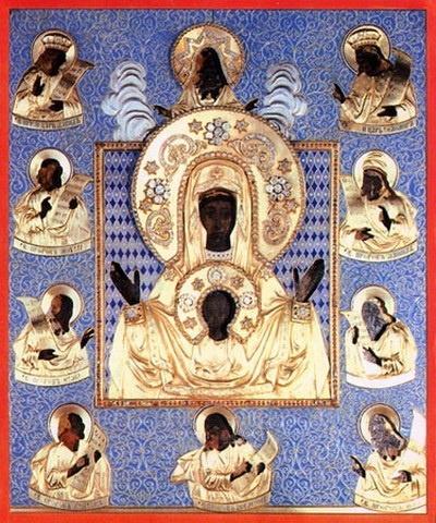 Чудотворная икона стала святыней русской православной эмиграции. Фото с сайта Симферопольской и Крымской епархии.