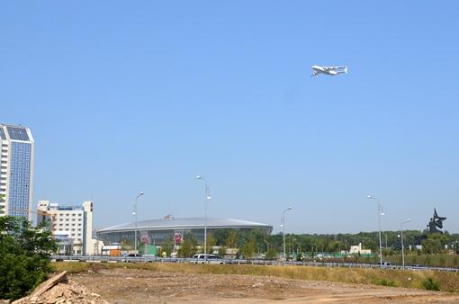 Ан-225 Мрия - создан в 1988 году. Фото: Константин Буновский.