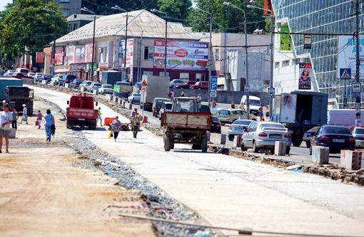 Некоторые улицы успели преобразиться до неузнаваемости.