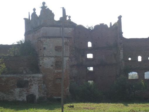 Замок ХVІI века в Старом Селе