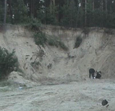 Это произошло в песчанном карьере. Фото: Магнолия-ТВ