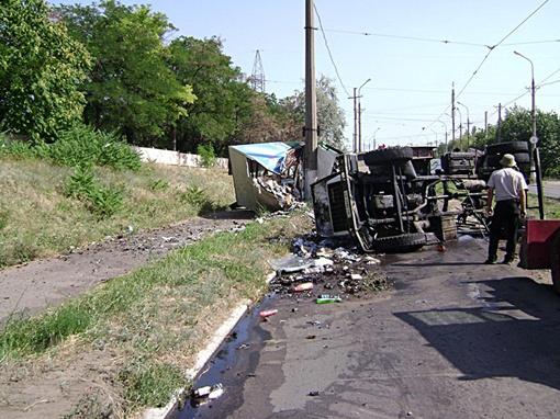 Авария на Мамина-Сибиряка. Фото: 0629.