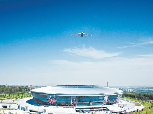 В Донецке уже почти все готово к приему гостей Евро-2012.