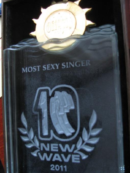 Награда нашла Машу. Фото пресс-службы певицы.