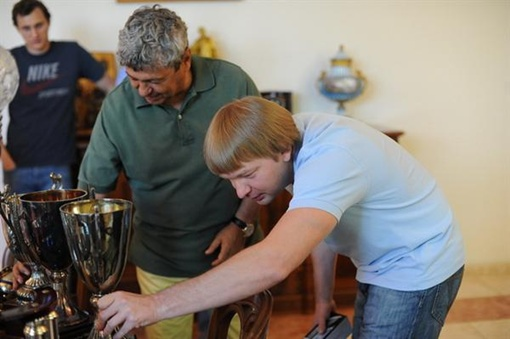 Луческу и Палкин.Фото: shakhtar.com