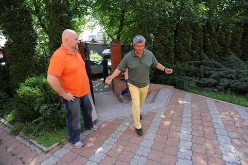 Мирча принимает гостей. Фото: shakhtar.com