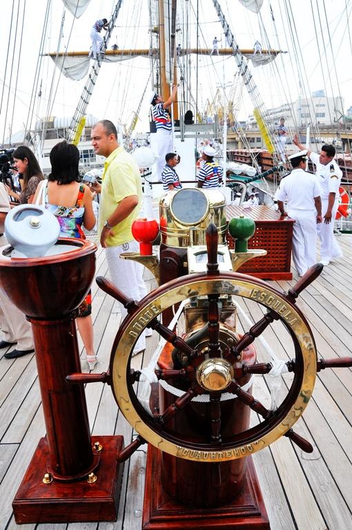 На палубе корабля. Фото автора