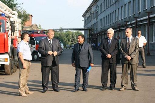 Премьер-министра встречал гендиректор ГП
