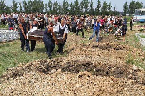 Шестерых из одиннадцати погибших в результате обрушения копра на шахте имени Бажанова ГП