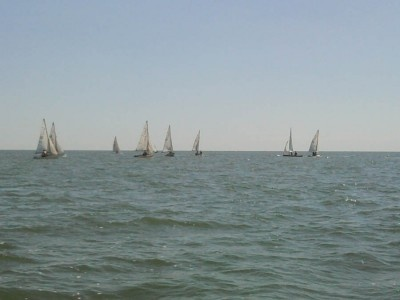 Спортсмены соревнуются в трех группах крейсерских яхт. Фото: www.ilich.in.ua.