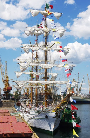 Корабль ВМС Мексики – парусник