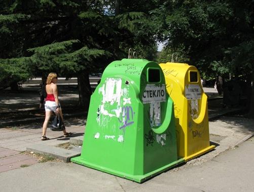 У крымского парламента рекордные девять современных контейнеров