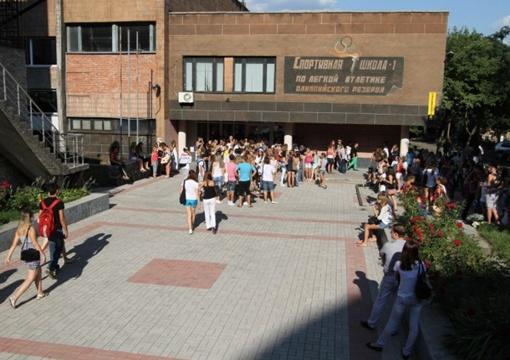 Отбор прошел в помещении донецкой спортивной школы по легкой атлетике. Фото: www.62.ua.
