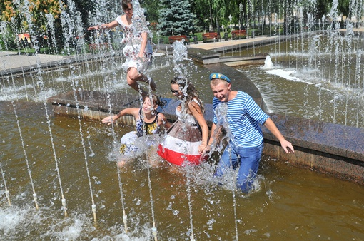 День ВДВ в парке Щербакова. Фото: Константин Буновский.