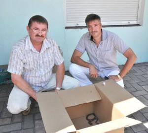 Гадюку поймали и отпустили. Фото: http://pr.ua.