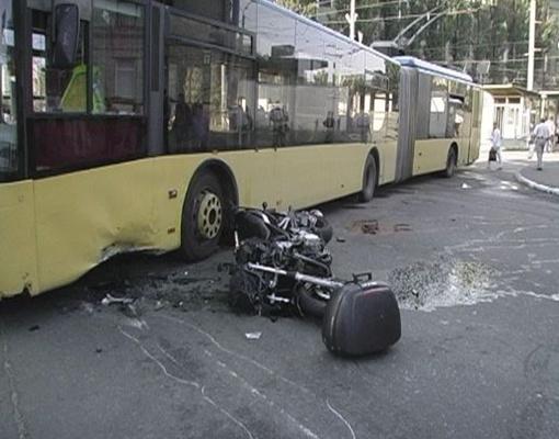 Мотоцикл мчался с огромной скоростью Фото с сайта magnolia-tv.com.