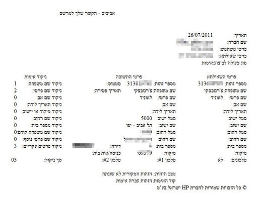 Тот самый документ. Фото с сайта izrus.co.il